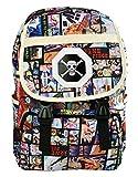 Cosstars One Piece Anime Cosplay Backpack Rucksack Étudiant Sac d'école Sac à Dos