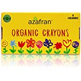 Azafran Organic Crayons, 120g (8 Colors)