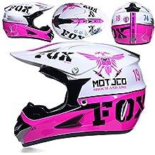 Helmet Adulto Motocross Casco Gafas de Regalo máscara Guantes Fox Moto  Racing Casco Completo Cara para 0a4559cdb79