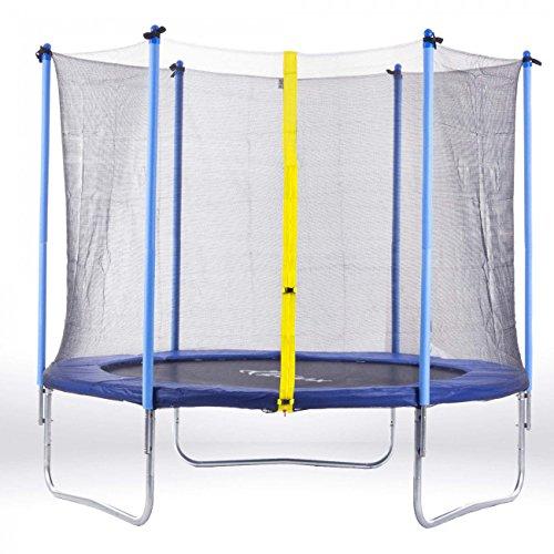 SAMAX trampolino 3.66 m (12 ft) blu
