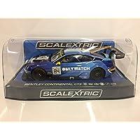 Scalextric C3846 Bentley Continental GT3, Team Htp - Coche para coche, color azul