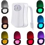 WC Nachtlicht Motion Sensor LED Licht...