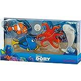 Bullyland 12066 - Disney Pixar Findet Dorie, Spielfigurenset, Hank, Bailey, Marlin und Dorie