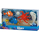 Disney Pixar Finding Dory Bullyland figura 4Pack–Nemo, Dory, Lou & Bailey