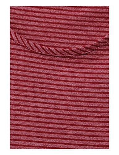 Cecil Marlena, Maglietta a Maniche Lunghe Donna Rot (Cranberry Red 21088)