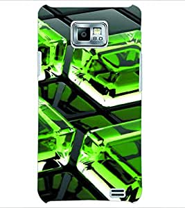 PRINTSWAG ICE CUBE Designer Back Cover Case for SAMSUNG GALAXY S2