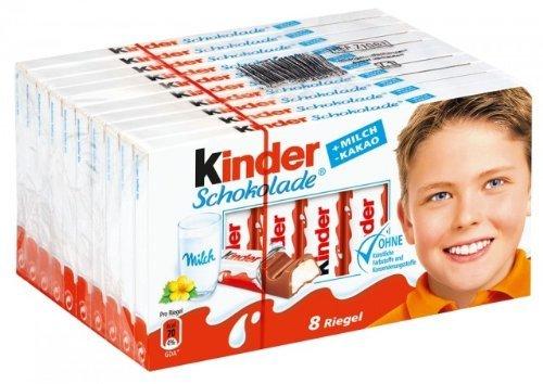 Ferrero Deutschland GmbH: Ferrero Kinder-Schokolade - 10 x 100 g - 1 Packung ...