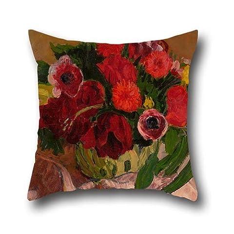 45,7x 45,7cm/45, 45cm de peinture à l'huile Rodéric O 'conor–Fleurs