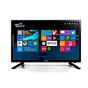 N.P.G Npg Tvs411l28h Televisor 28'' Lcd Led Hd Smart Tv Android Wifi Hdmi Usb Grabador Y Reproductor Multimedia