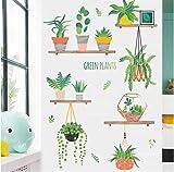 hemeibingqt hemeibingqt Wandaufkleber Blume Wasserdicht Home Decoration Selbstklebend Vinyl DIY PVC 100 * 80cm