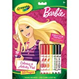 Crayola Barbie Coloring and Activity Book with Markers