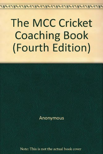 Cricket Coaching Book