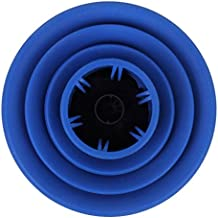 Difusor de secador de pelo plegable 5-13,5 cm, color azul