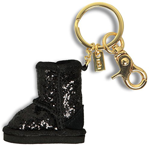 ugg-glitter-boot-charm-black-tailleone-size