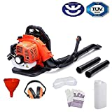 Best Backpack Blowers - BU-KO 65cc Petrol Backpack Leaf Blower - Powerful Review