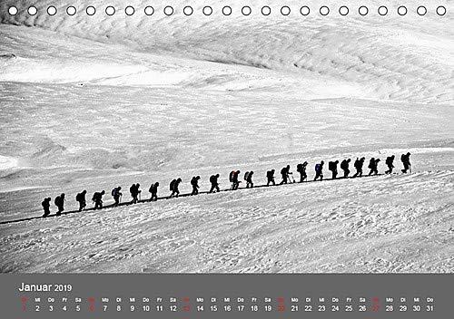 Bergsteigen .- Extremsport am Limit (Tischkalender 2019 DIN A5 quer): Bergsteigen, Faszination und Sport zugleich - eine echte Herausforderung (Monatskalender, 14 Seiten ) (CALVENDO Sport)