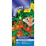Suttons - Peruvian Lily Seeds - High Society Mix