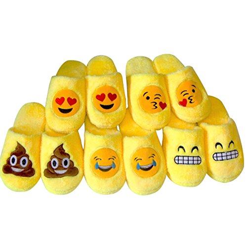 Yodensity Herbst Winter Warme Rutschfeste Hausschuhe Ausdruck Damen Männer Pantoffel lieben