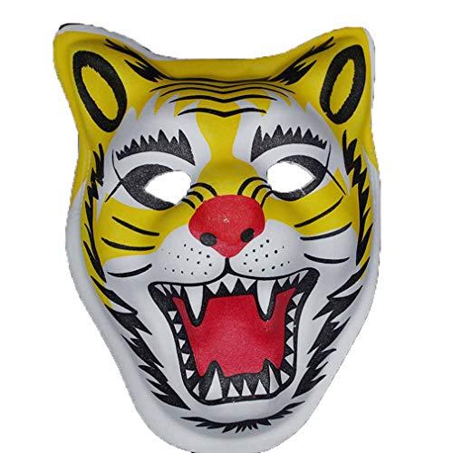 AND Kindertag Maske Halloween Maske Tier Maske Löwe Welpen weiß Fuchs Maske Kinder - Löwe Kostüm Streich