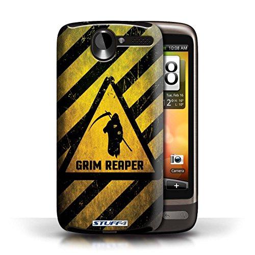 Coque de Stuff4 / Coque pour HTC Desire G7 / Explosif Design / Signes de Danger Collection Décès/Faucheuse