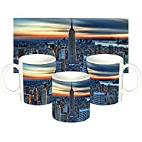 Empire State Building Manhattan Nueva York New York City NY Taza Mug