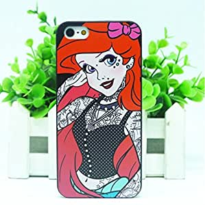 COVER CASE BUMPER RIGIDO ARIEL TATUATA IPHONE 5 5S