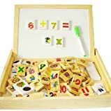 #8: Samaira Toys Multipurpose Study Box, Learn Mathematic, Alphabets and More, Wooden