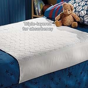Dri Nights Waterproof Mattress Protector Crib/Twin Size by One Step Ahead
