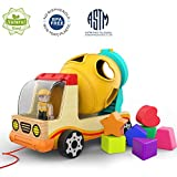 Best Gifts For Toddler Boys - Top Bright Wooden Shape Sorter Toys for Toddlers Review