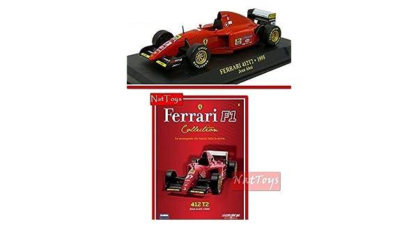 EDICOLA Ferrari F1 412T2 1995 Jean Alesi MODELLINO Die Cast 1:43 Model Scale 6 Compatible con fascic