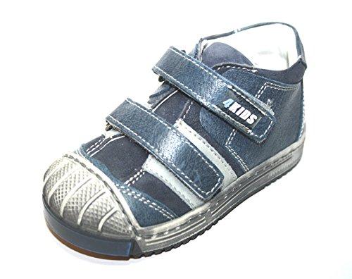 4 KIDS Sport Cherie Kinder Baby Schuhe Jungen Halbschuhe 0312 (ohne Karton) Blau