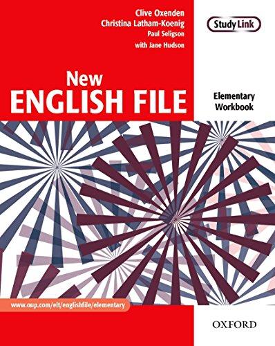 New English File Elementary: Workbook Without Answer