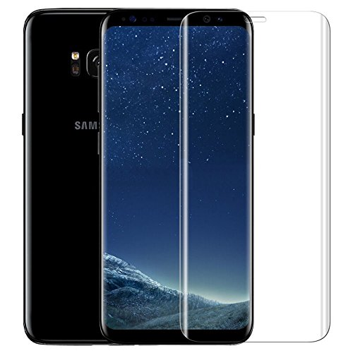 Produktbild iprotect Screen Full Cover Protector Hartglas Schutzfolie für Samsung Galaxy S8 Tempered Glass Display Schutzglas mit Rahmen in Transparent 0,3mm