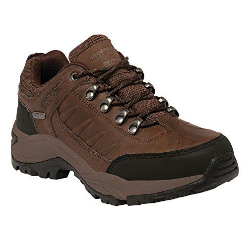 Regatta Smithfield imbottita impermeabile in pelle scarpe da trekking Indian Chestnut/Black