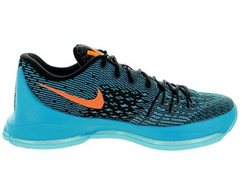 Nike  Kd 8, espadrilles de basket-ball homme Multicolore - Azul / Gris / Naranja (Bl Lgn / Brght Ctrs-Blk-Td Pl Bl)