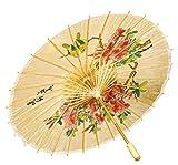 chinesischer Schirm zum Chinesin Kostüm an Karneval Fasching