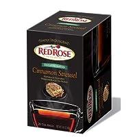 RED ROSE TEA BLK DCF CNMN STREUSEL, 20 BG