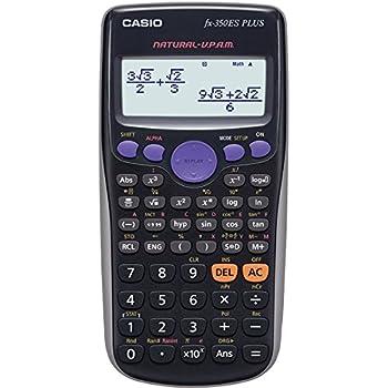 CASIO Plus Calcolatrice Elettronica Scientifica, Colore Grigio Scuro