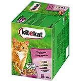Kitekat Katzenfutter Markt-Mix in Gelee, 24 x 100 g
