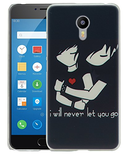 Jkobi Fashionable Printed Designed Hard Shell Back Cover For Meizu M3 Note -Forever Love  available at amazon for Rs.170