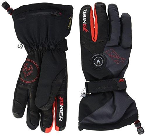 Zanier Damen Handschuhe Heat.GTX, Schwarz/Rot, XL