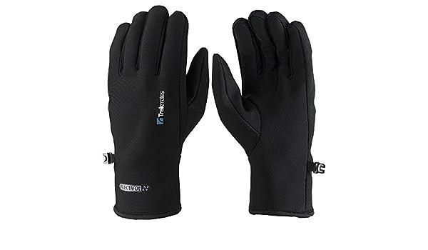 Trekmates Brandreth M Damen Herren Micro Fleece Handschuh warmer Fingerhandschuh Handschuhe Bekleidung