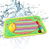 Drawing Mat Water Pens Kids Educational Toy Gift
