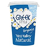 Yeo Valley Organic Greek Style Natural Yoghurt, 450g