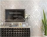 Yosot Verdickung 3D Relief Damaskus Vliesstoffe Tapete Schlafzimmer Wohnzimmer Tv Hintergrund Wand Tapeten Weiß