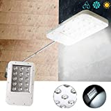 Taihang Ultradünne Solar Power 15 LED Licht-kontrollierten Wall Street Light Wasserdichte Outdoor Garten Lampe