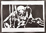 Poster Wolverine X-Men Handmade Graffiti Street Art - Artwork