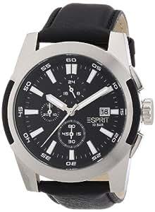 Esprit Herren-Armbanduhr XL palomar Analog Quarz Leder ES106371003