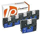 Bubprint 5 Schriftbänder kompatibel für Brother TZE-931 TZ 931 für P-Touch 1280 2430PC 2730VP 3600 9500PC 9700PC D400VP D600VP H100LB H105 P700 P750W