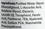 Vitamin-C Serum für das Gesicht mit Hyaluronsäure Antioxidationsmittel-Sonnenflecken - Gesichtsserum mit Vitamin C, B, E, Ferulasäure - Klinisch wirkungsvolles 20% Vitamin C für eine makellose und hydratisierte Haut 30ml